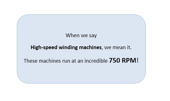 High Speed Winding Machine