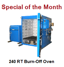 240-RT Burn-Off Oven