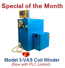 Versatile Coil Winders with PLC Control