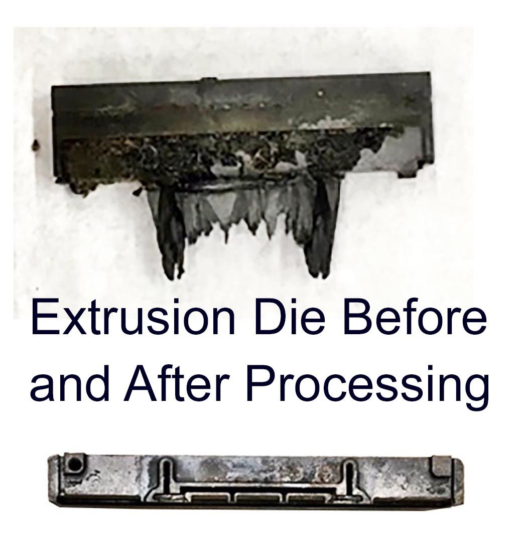 Extrusion Die Before and After