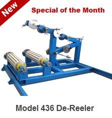 Model 436 De-Reeler