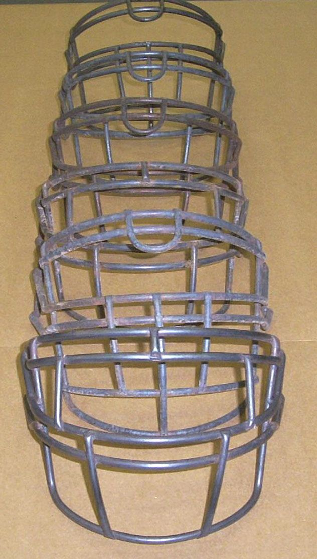 Football Face Masks Cleaned in the ACE RT Burn Off Oven System