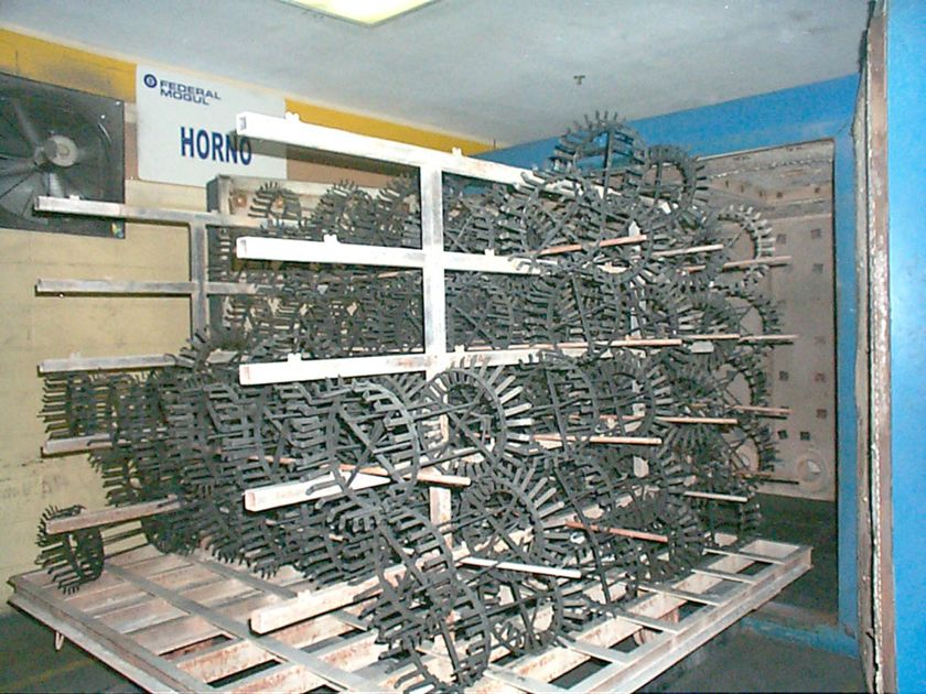 Specialty Racks Processed Through the ACE RT Burn Off Oven