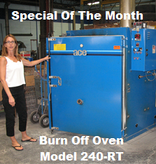 Burn Off Oven Model 240-RT