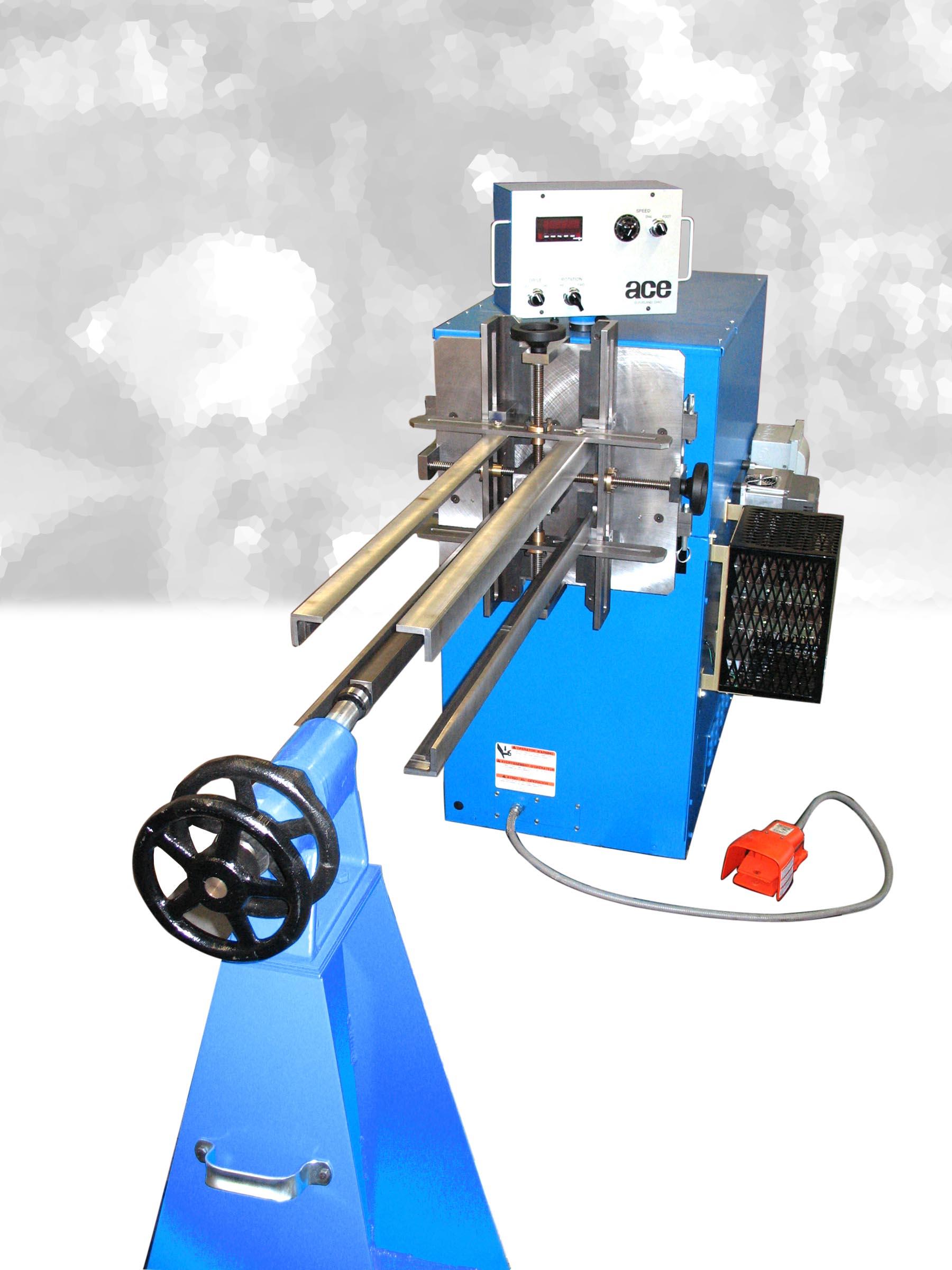 potter rayfield winding machine