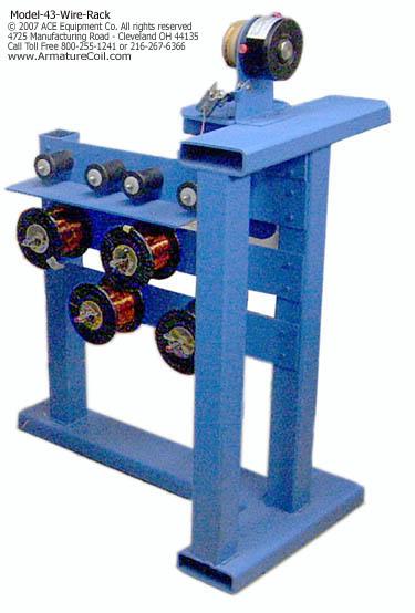 multi reel wire rack