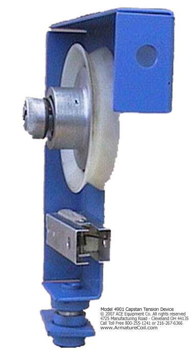 capstan tention device