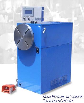 model HD heavy duty coil winder