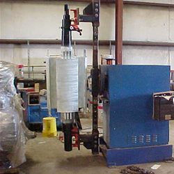 Customer Winds Large Coil on Model HD Machine