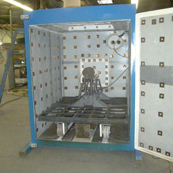 Front of Burn Off Oven