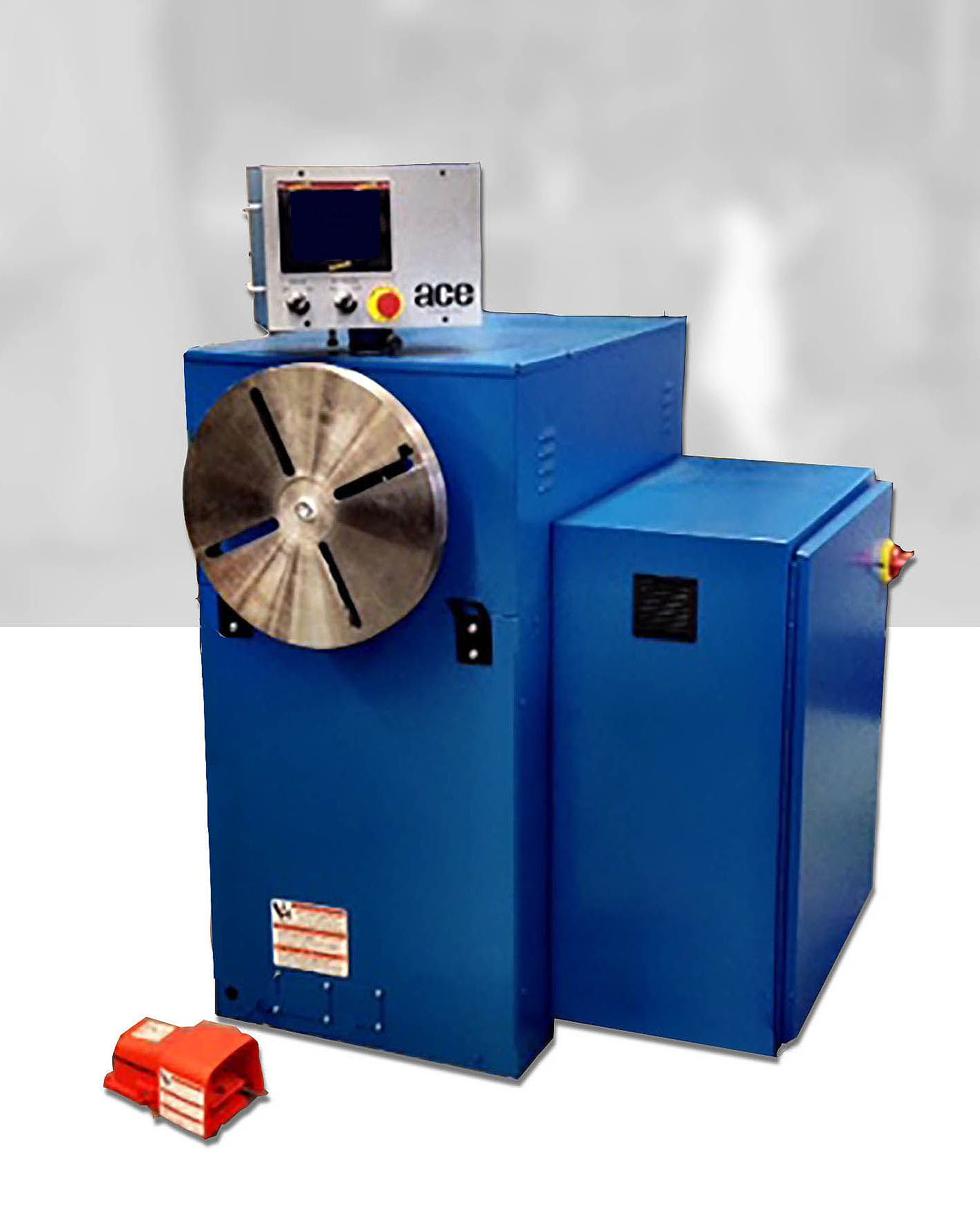 Heavy Duty Coil Winders Model HD with ABB Drive EIS