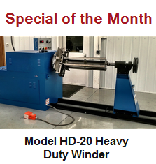 Heavy Duty Winder Model HD-20