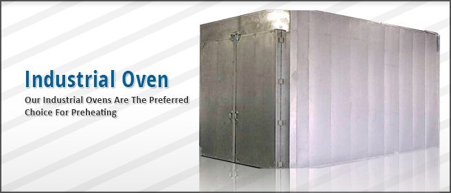 industrial oven for preheating