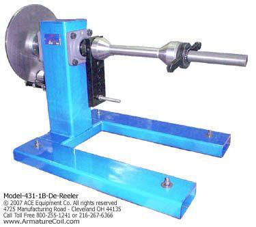 Model 431 1b De-Reeling Stand