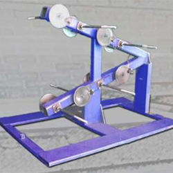 Model 438 1b Eight Reel Dereeling and Tension Stand