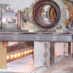 Motor in Oven