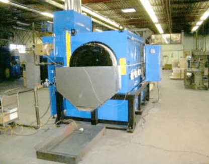 Front Look of Rotary Drying Oven