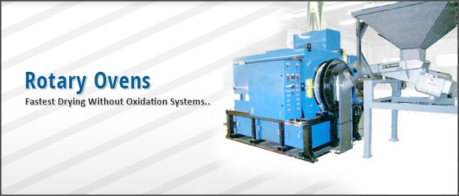 Rotary Oven Without Oxidation Systems