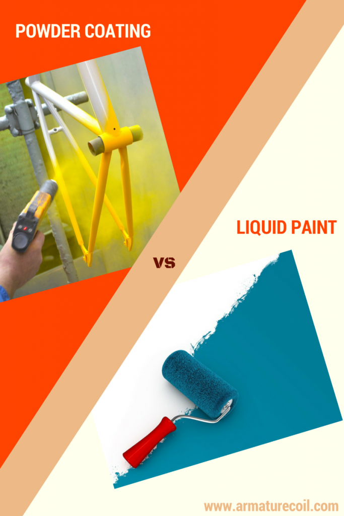 Powder coating VS Liquid Paint