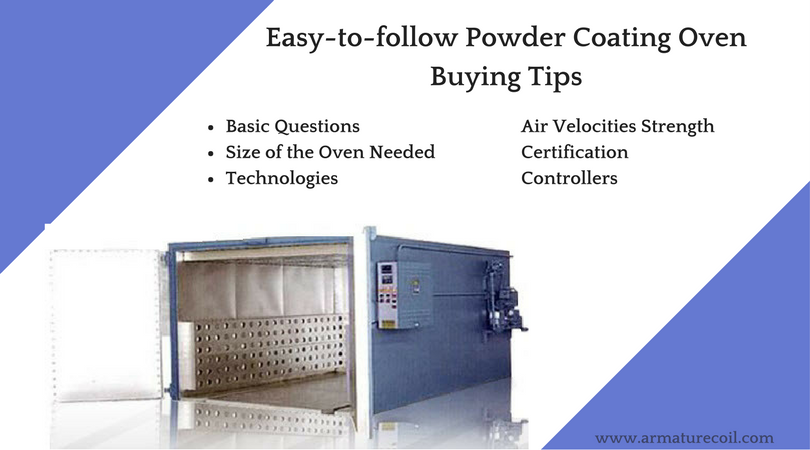 Easy-to-follow Powder Coating Oven Buying Tips