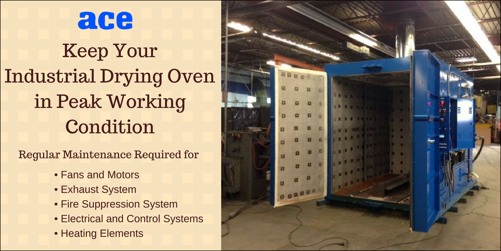 Industrial Drying Oven Maintenance